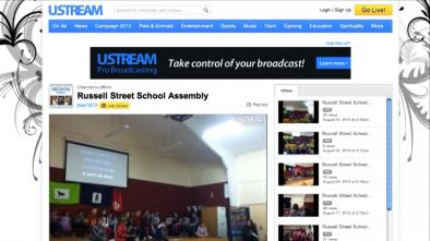 Using Ustream to share assemblies