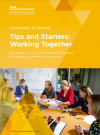 Community of Schools: Tips and starters - working together