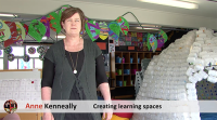Creating learning spaces video title
