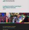 Cover image for Leading Innovative Learning in NZ schools April 2018 ERO report