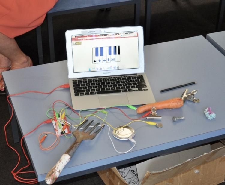 Makey Makey for PD