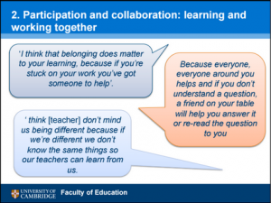 Participation and collaboration: learning and working together