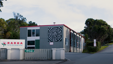 Raroa school building.