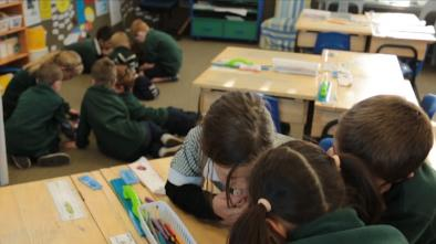 Learning with iPads in the classroom