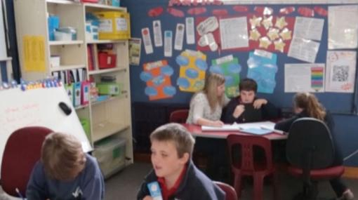 An inclusive classroom supporting a learner with ADHD