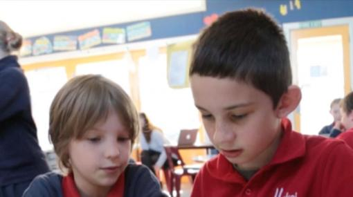 An inclusive classroom supporting a learner with dyslexia