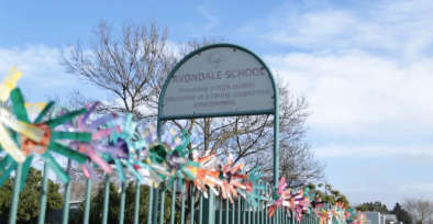 Avondale High School sign