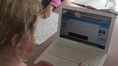 Sharing learning using the class blog and e-portfolios
